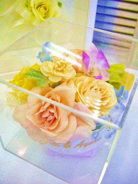 <p>ブーケをそのまま立体加工は飾るところにこまっちゃう・・・。なんて花嫁さんも結構多い。<br>で、登場したのが、「ブーケのお花を小分けにアレンジ」してお部屋のインテリアとして飾りましょう!ってわけ。<br><br>例えば・・・、小分けにして、ご両親や姉妹や大切な友人に幸せのおすそ分け。という手もあります。<br><br>予約なしで直接当店へ郵送してください(送料はお客様のご負担でお願いいたします。普通便で大丈夫ですよ</p>