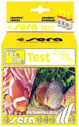 セラ アンモニア(NH4/NH3)テストを使用すれば、飼育水槽内のアンモニア態窒素の相対量を測定することが出来ます。その内でアンモニア単独の濃度に関しては付属のpH相関表を参照することによって簡単に求めることが出来ます。