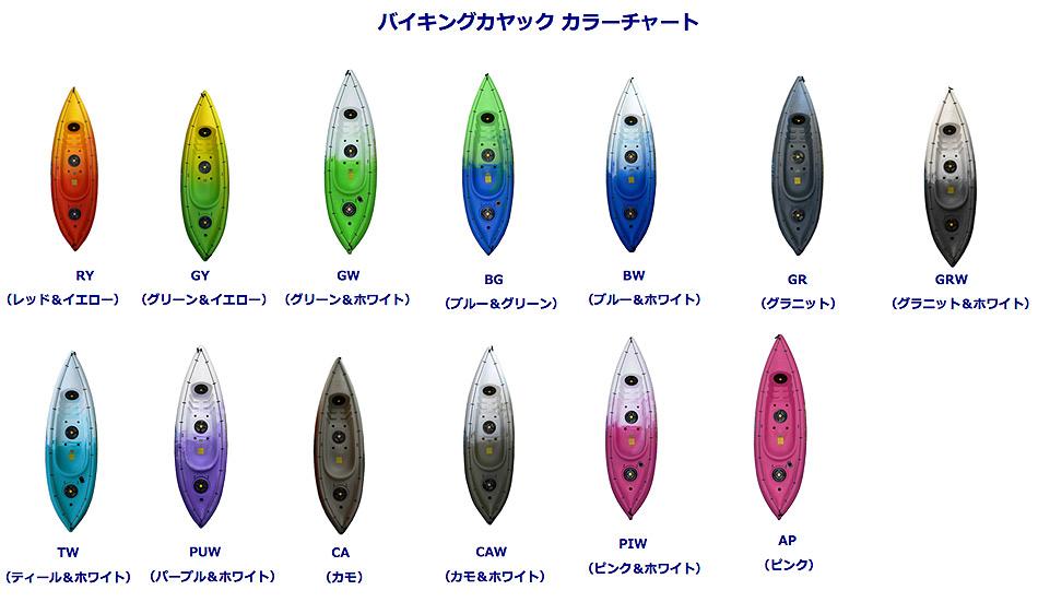 カラーオーダー表