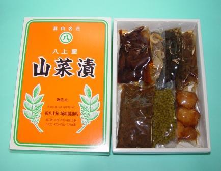 山菜漬6点セット 内容量560g(ふき・せり・みょうが・しょうが・さんしょ・きのめ各80g)