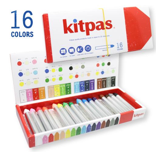 キットパスミディアム6色12色16色各2個セット
