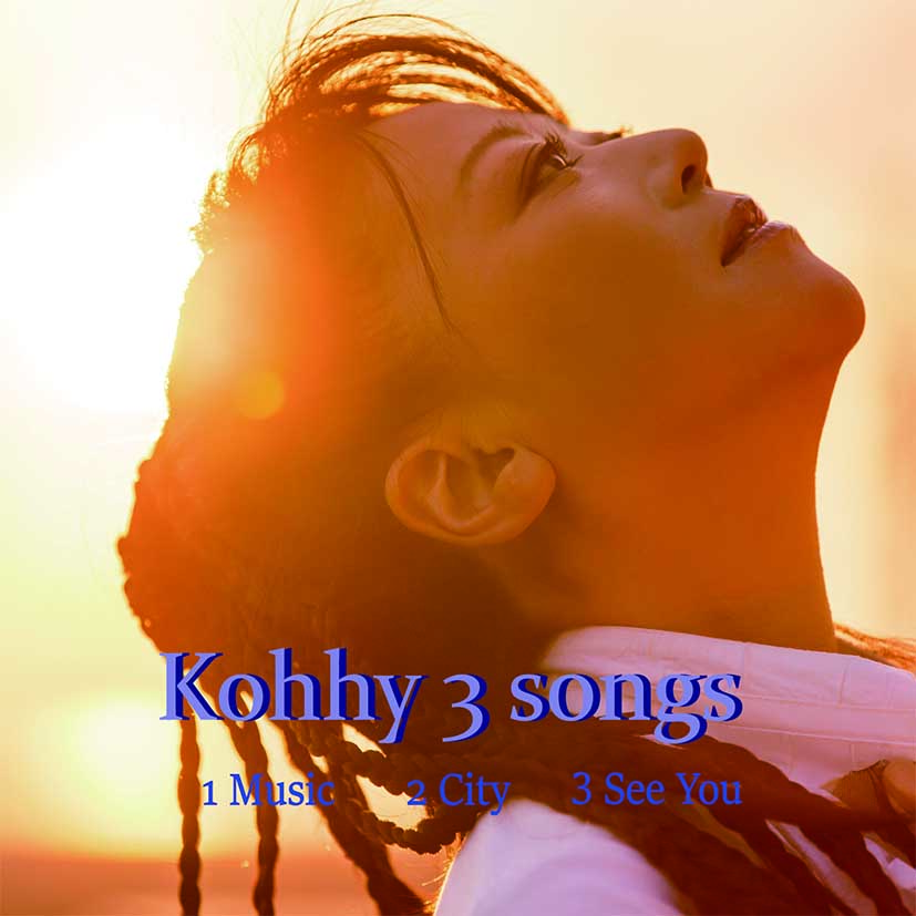 マキシCD Kohhy3 songs