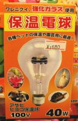 アサヒ 保温電球 40W