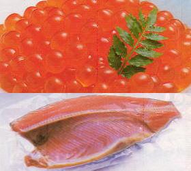 【送料無料】鮭とイクラの親子セット