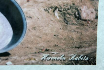 オリジナルプリントサイン付き。