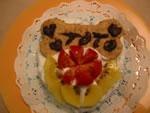 ママさんの愛情いっぱいのトッピングでゴージャスなバースデイケーキに変身させてあげてください★
