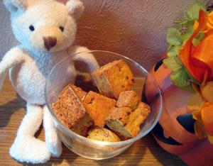 かぼちゃと小豆のほんのりした甘さがクセになります♪