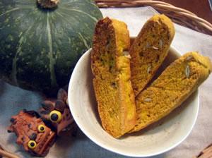 かぼちゃの甘みと種の香ばしさが楽しいです♪