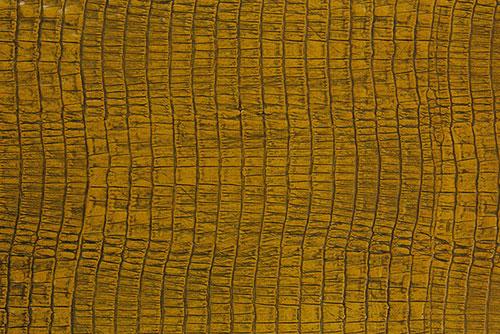IL007 ワニ型押し 黄