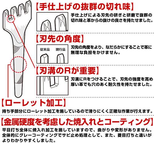 2本平目打ち2.0mm巾TVでも紹介された【日本製】