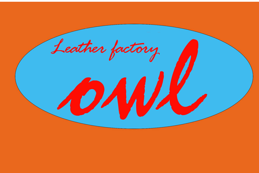 Leather factory owl