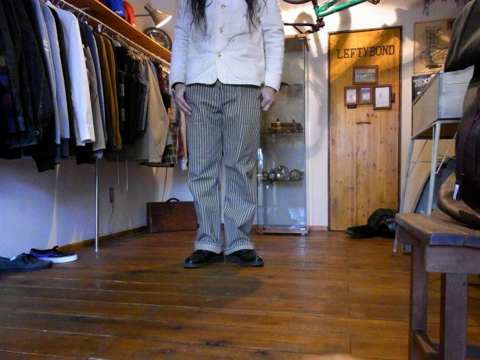 182cm,76kg,Size34着用