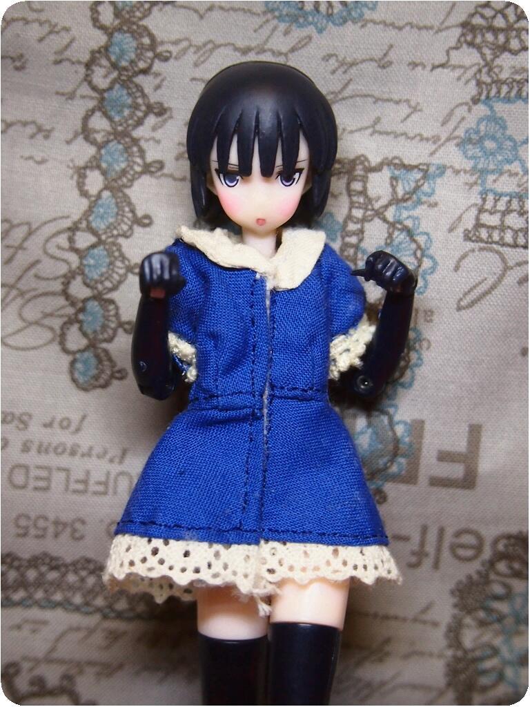紺×アイボリー