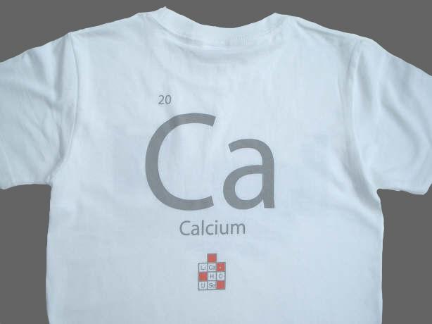 バック Ca(カルシウム)の記号