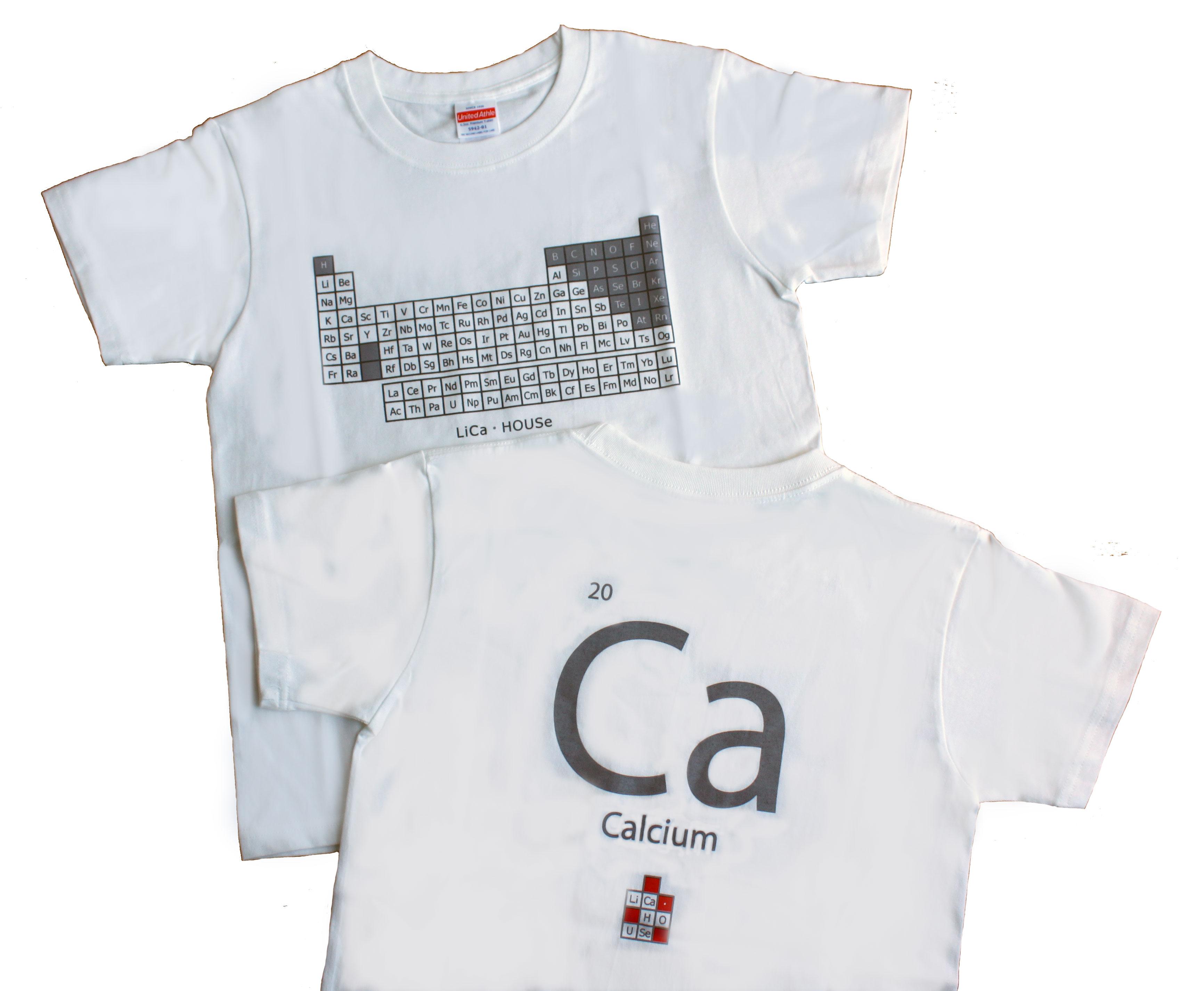 バックはCa(カルシウム)の元素記号