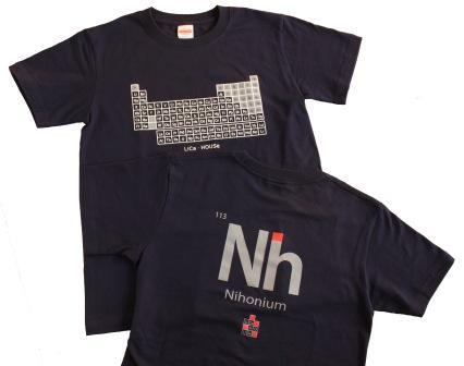 バック Nh(ニホニウム)の元素記号