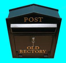 トラディショナル・ロック・メールボックス(郵便ポスト・奥行スリムタイプ)