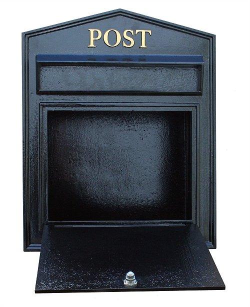 トラディショナル・ロック・メールボックス(郵便ポスト・奥行広タイプ)