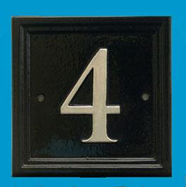 ナンバーサイン square 正方形 W12.7cm x H12.7cm(モチーフ不可)