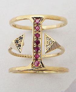 No.161 Tribe color Ringと重ねられます。