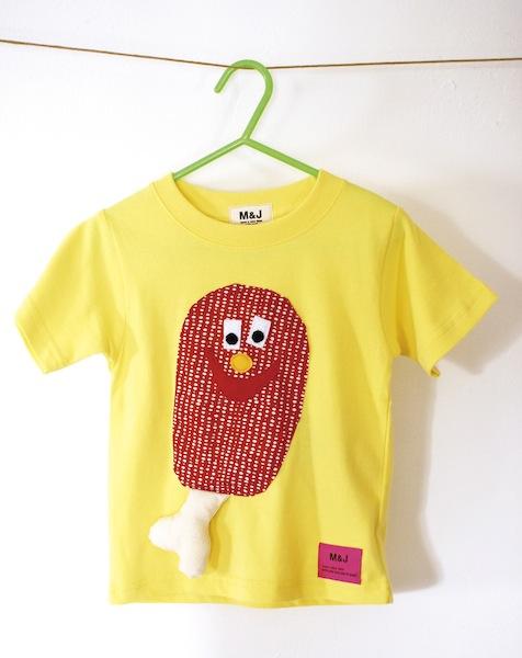 骨付き肉のTシャツ!!