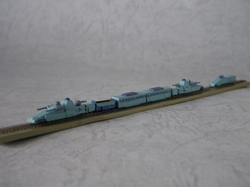 1/700軍用列車