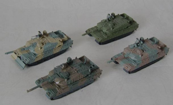 10式戦車ファミリー