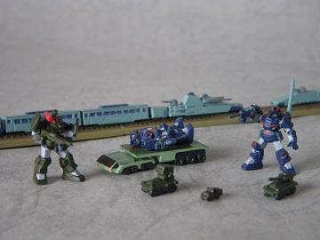 軍用列車強襲