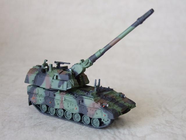 155ミリ砲装備のPzh2000 NATO迷彩仕様