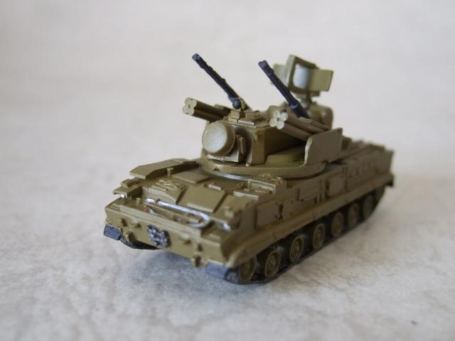 ツングースカ 対空機関砲/ミサイルシステム