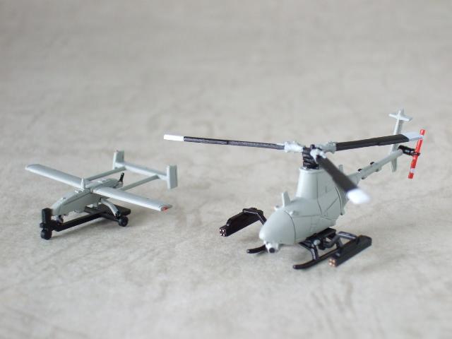 米海軍無人ヘリの草分け、ファイアスカウトと、元祖無人偵察機パイオニア