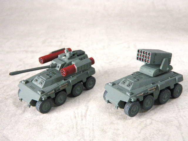 インステッド、リニア砲タイプ、対空ロケット弾ポッドタイプコンパチ可能