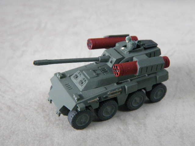 リニア砲+ミサイルポッド