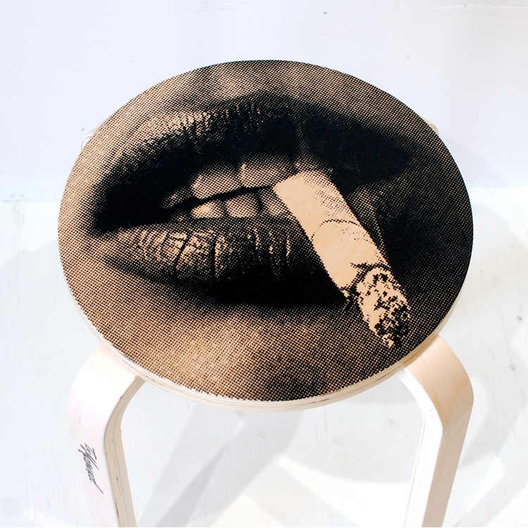 Stool Smoking  Stool