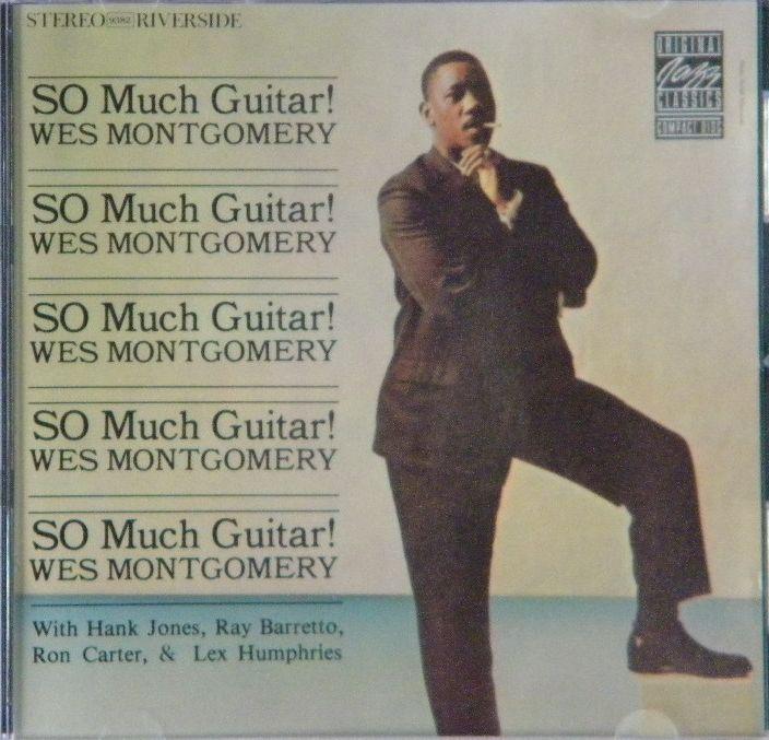 <p>ジャズを聴き始めるのに最適なウェス・モンゴメリーの「ソー・マッチ・ギター」。ウェスの</p><p>ギターを堪能できます。美品。</p>