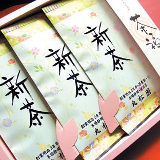 茶福・松印100g袋×3本セット箱入り