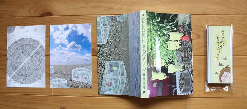 ふろく付(本、カード2枚、しおり、イラスト地質表)