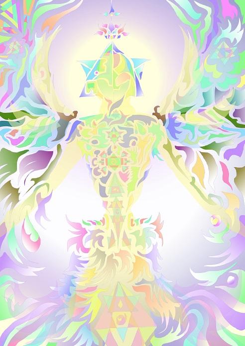こちらは、まるの日圭のハイアーセルフ・シンボルになります。