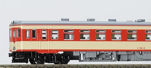 "<font face=""Arial, Verdana""><span style=""font-size: 13.3333px;"">キハ26は主に平坦区間で使用される1エンジンの車両です、初期急行色は1959年頃から採用された塗色です。</span></font>"