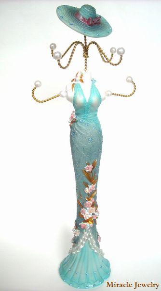陶磁器製の35センチ、約500グラム、堂々たるボリューム!エレガントな貴婦人の美しさがお部屋を引き立てます!