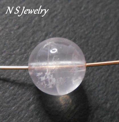 ピンクメタモに内包物がございますが、天然石ならではの特徴です♡色・ツヤはMJ品と全く変わりません…!