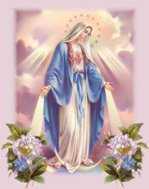修道女のカタリナ・ラブレの夢に、何度もマリア様が表れ、メダイを作りなさい。そして人々を苦しみから救いなさい。と話されました。