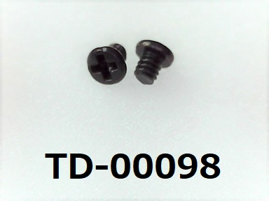 <p>材質:鉄<br>焼き:有 <br>サイズ:太さ1.2ミリ × 長さ1.4ミリ<br>頭部の溝:プラス<br>表面処理:三価黒</p><p><br></p>