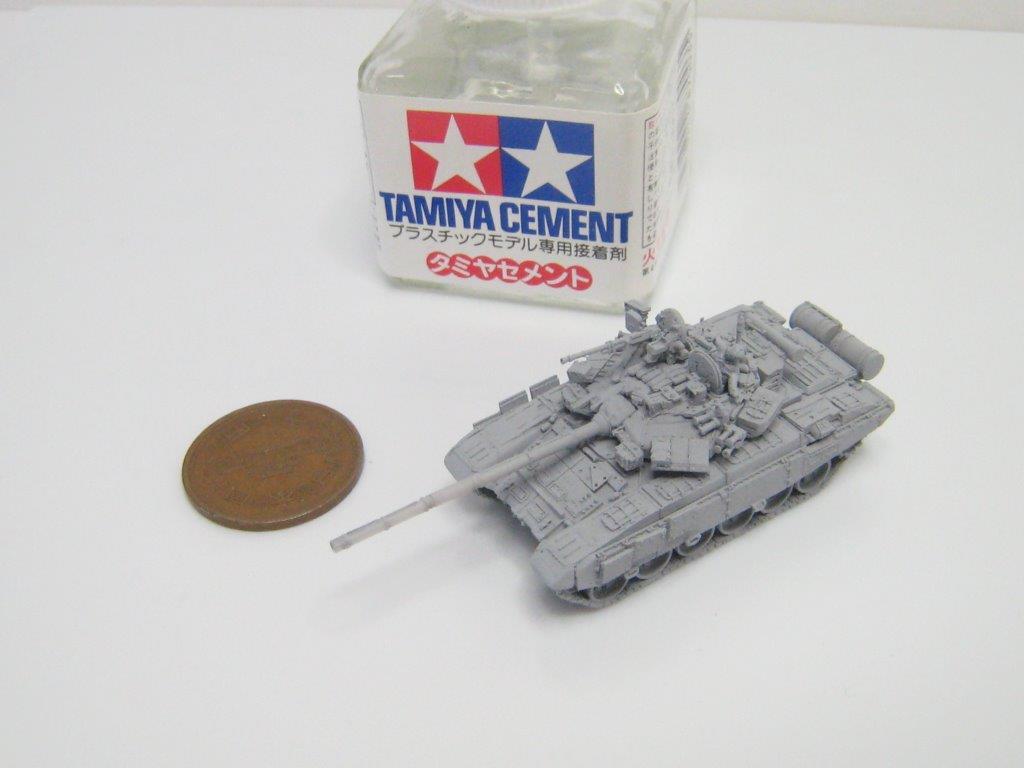 本キットは最新型の溶接砲塔搭載型をモデライズしています