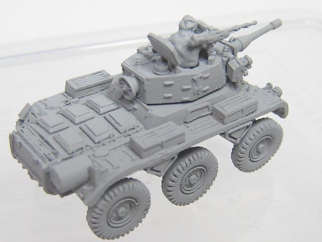 1/144スケールサラデインMK2偵察装甲車