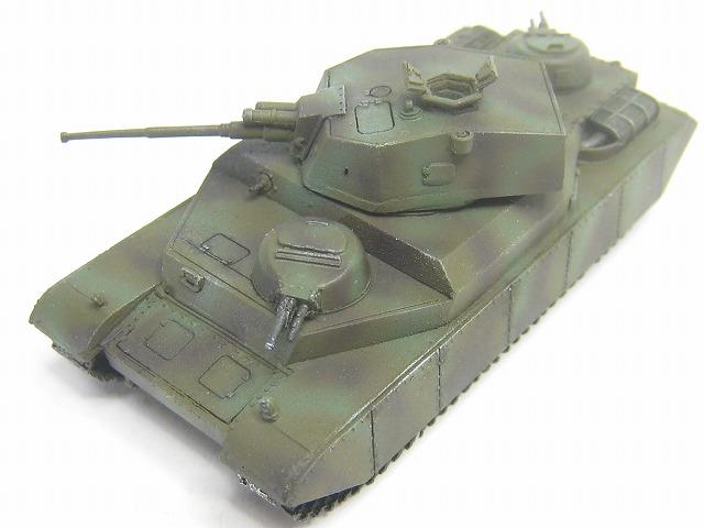通常の戦車よりかなり大きいです