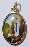 ルルドの聖母のメダイ