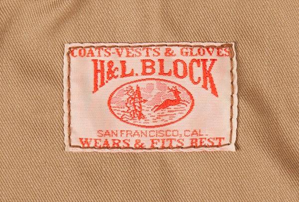 H&L BLOCK実名ラベル