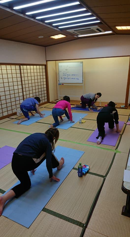 2018 6/3(日)AM yung横浜ヨガクラス