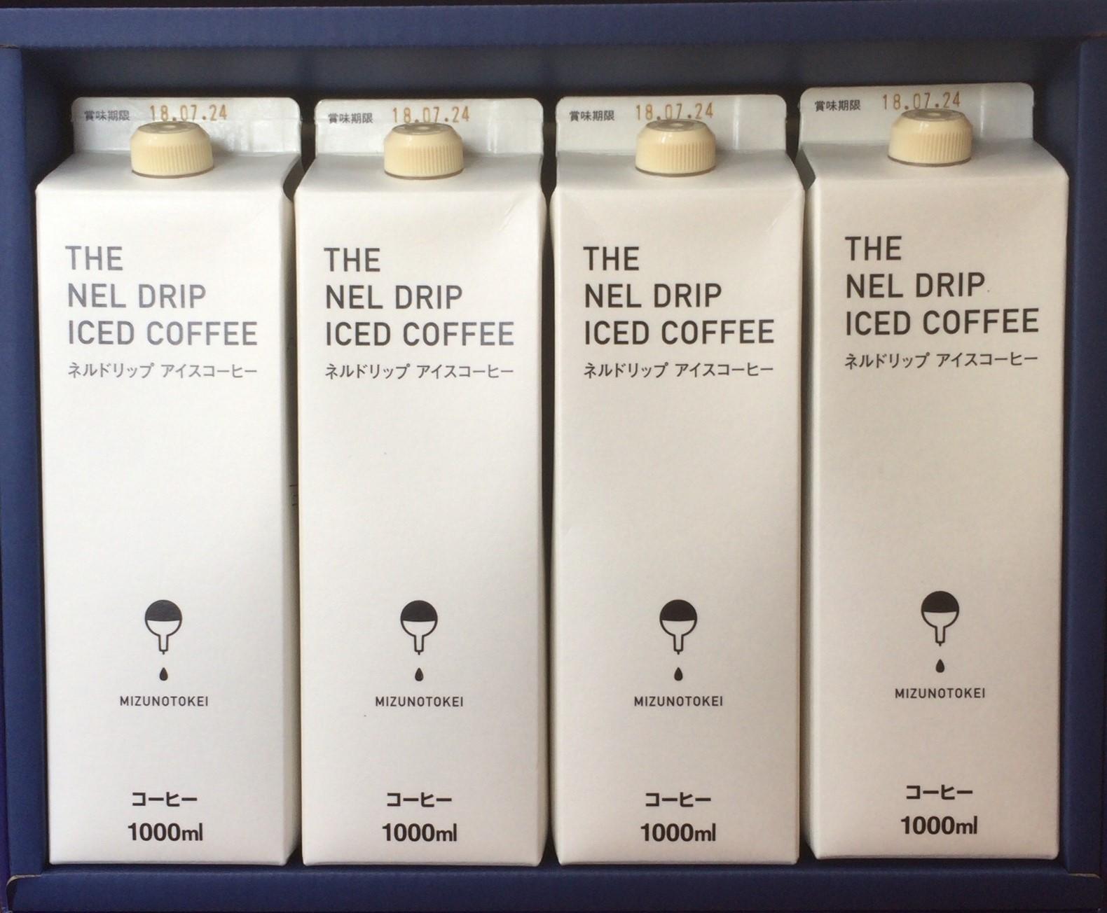 ネルドリップアイスコーヒー  4本セット